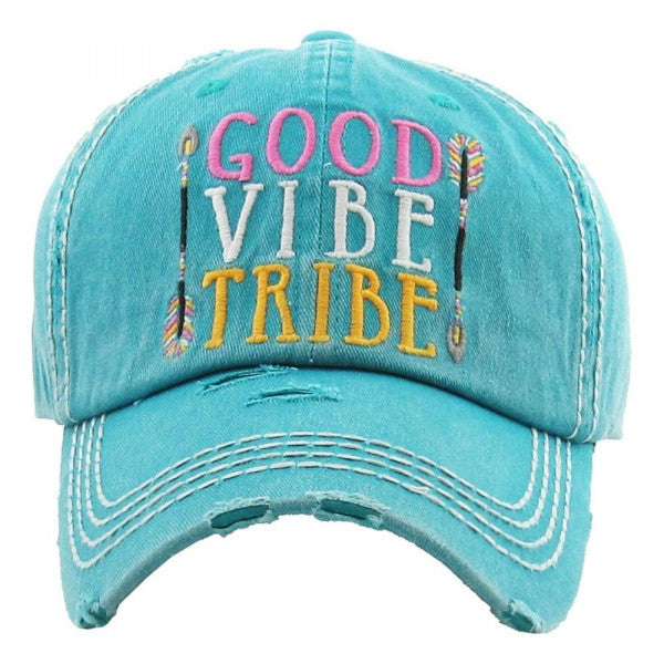 """Good Vibe Tribe"" Turquoise"