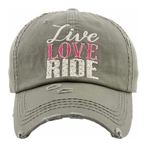 """Live Love Ride"" Hat"