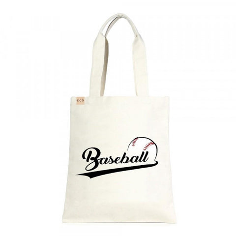 Baseball Canvas Tote - Southern Style and Stash A Specialty Boutique