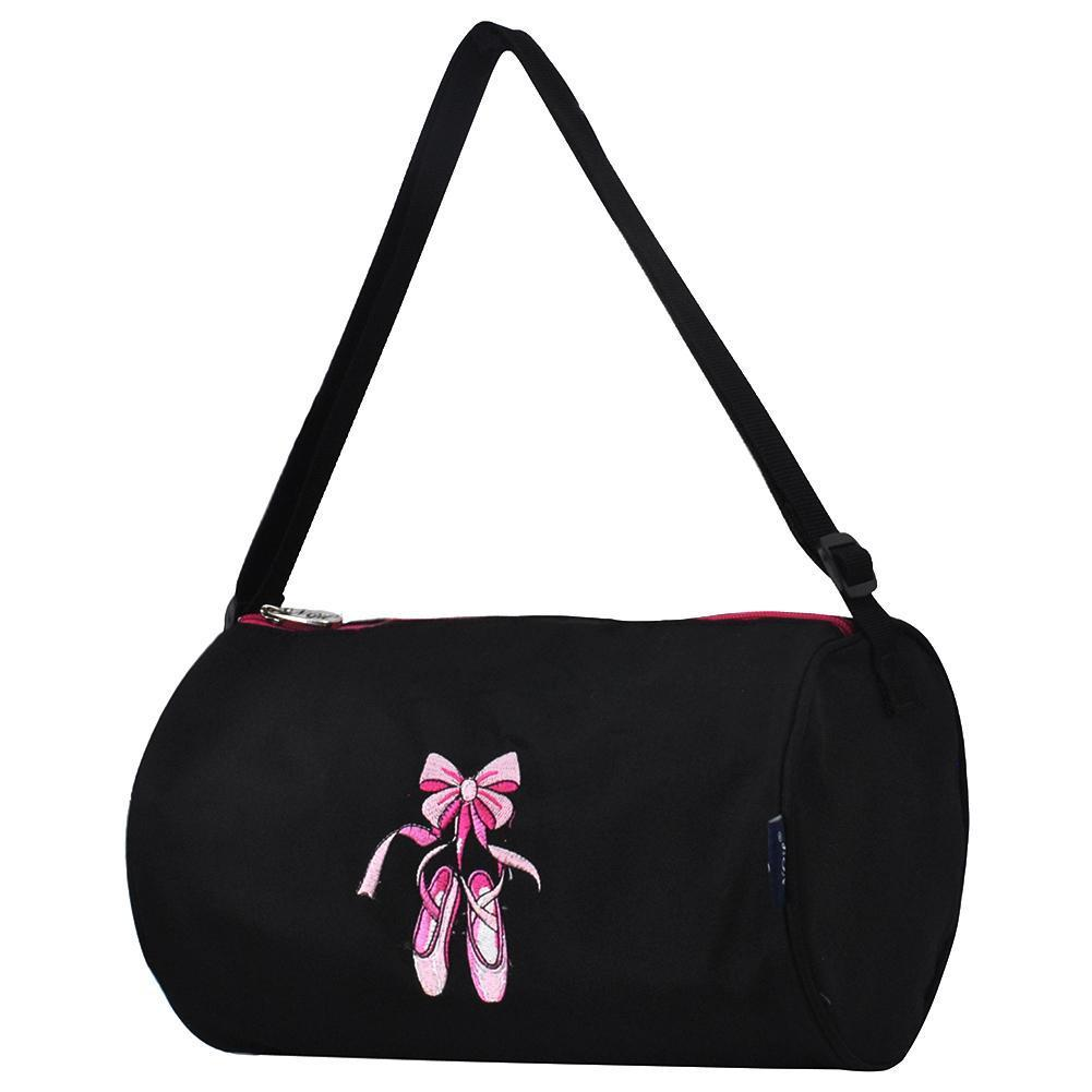 Ballerina Black Mini Duffle Bag