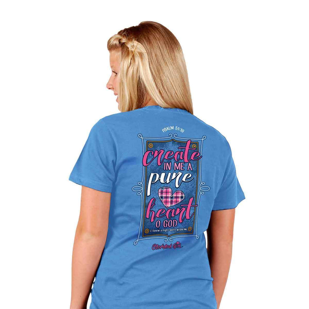 Cherished Girl® - Create In Me Christian T-Shirt - Southern Style and Stash A Specialty Boutique