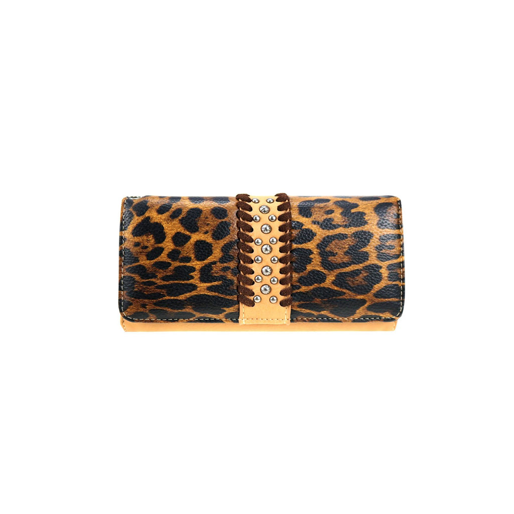 Leopard Print Wallet/Wristlet - Southern Style and Stash A Specialty Boutique