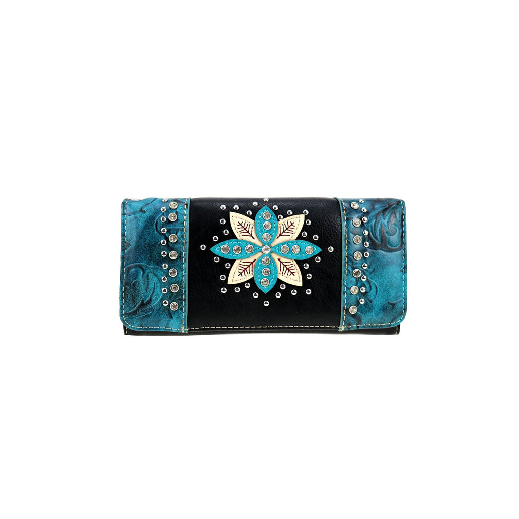 Floral Wallet/Wristlet - Southern Style and Stash A Specialty Boutique