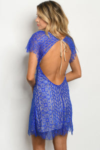 Beautiful! ROYAL NUDE DRESS with open back