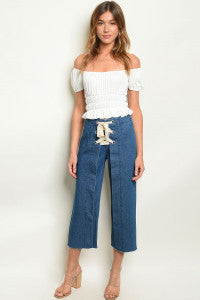 MEDIUM DENIM PANTS