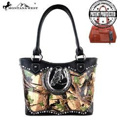 Montana West Concealed Handgun Collection Tote Bag - Southern Style and Stash A Specialty Boutique