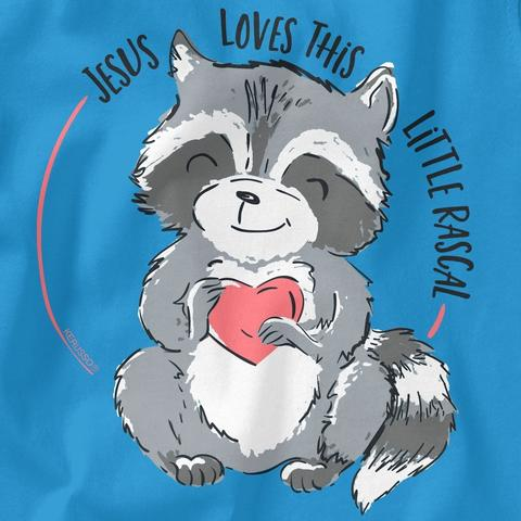 """Jesus Loves This Little Rascal"" tee"