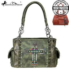 Concealed Carry Purse/Green - Southern Style and Stash A Specialty Boutique