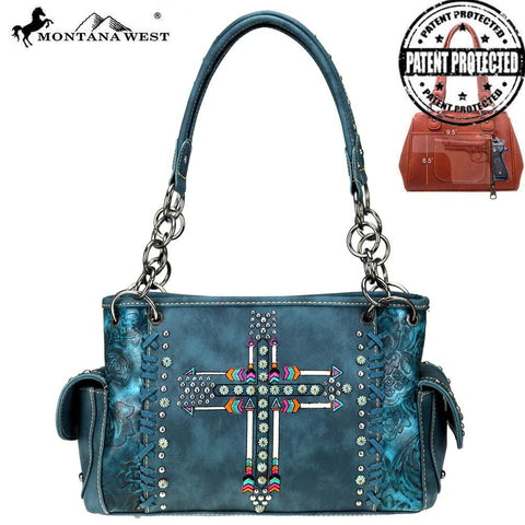 Arrow Collection Concealed Carry Satchel - Southern Style and Stash A Specialty Boutique