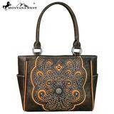 Montana West Concho Tote Coffee