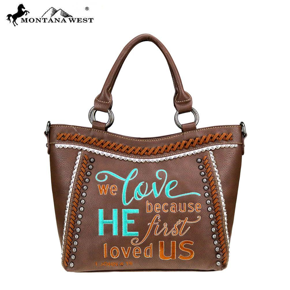 Montana West Scripture Bible Verse Collection Tote/Crossbody