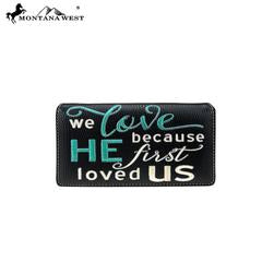 Bible Verse Wallet/Black - Southern Style and Stash A Specialty Boutique