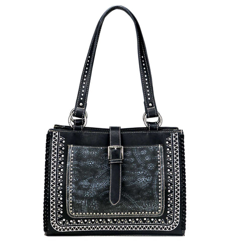 Concealed Carry Buckle Purse/Black - Southern Style and Stash A Specialty Boutique
