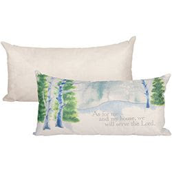 """Serve The Lord"" Inspirational Pillow - Southern Style and Stash A Specialty Boutique"