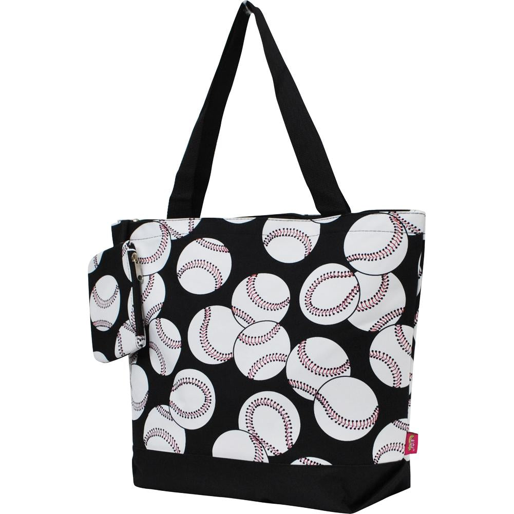 Baseball Canvas Tote Bag - Southern Style and Stash A Specialty Boutique