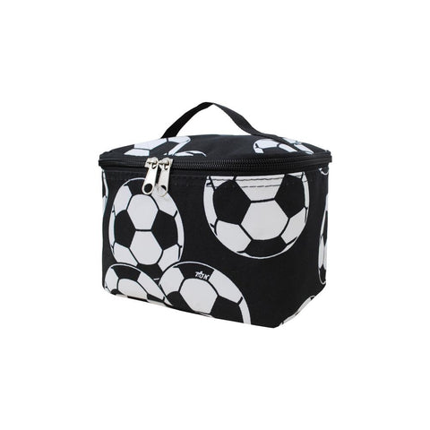 Soccer Cosmetic Case - Southern Style and Stash A Specialty Boutique