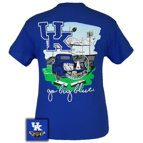 Kentucky Short Sleeve Tailgates & Touchdowns