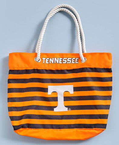 Collegiate Nautical Striped Totes - Southern Style and Stash A Specialty Boutique