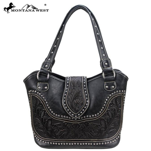 Montana West Tooling Concealed Handgun Collection Handbag