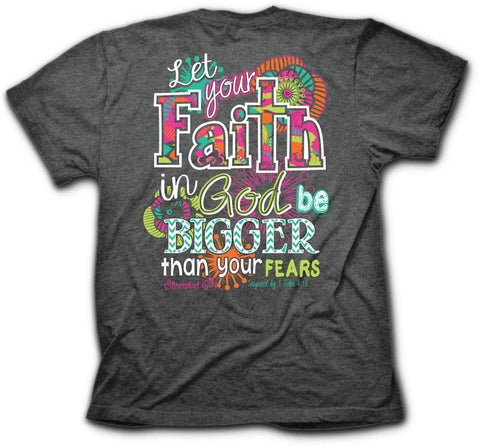 Big Faith Cherished Girl Tee ™ - Southern Style and Stash A Specialty Boutique