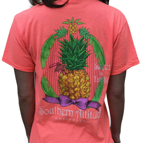 Pineapple - Coral-Sweet and Tangy - Southern Style and Stash A Specialty Boutique
