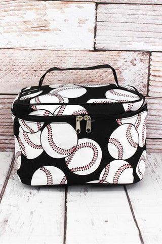 BASEBALL TRAIN CASE - Southern Style and Stash A Specialty Boutique