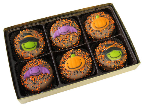 Halloween Pumpkin and Witch decorated Oreo® Cookies - 6 pack