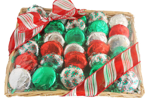 Chocolate Covered Oreo Cookie Christmas Holiday Gift Basket