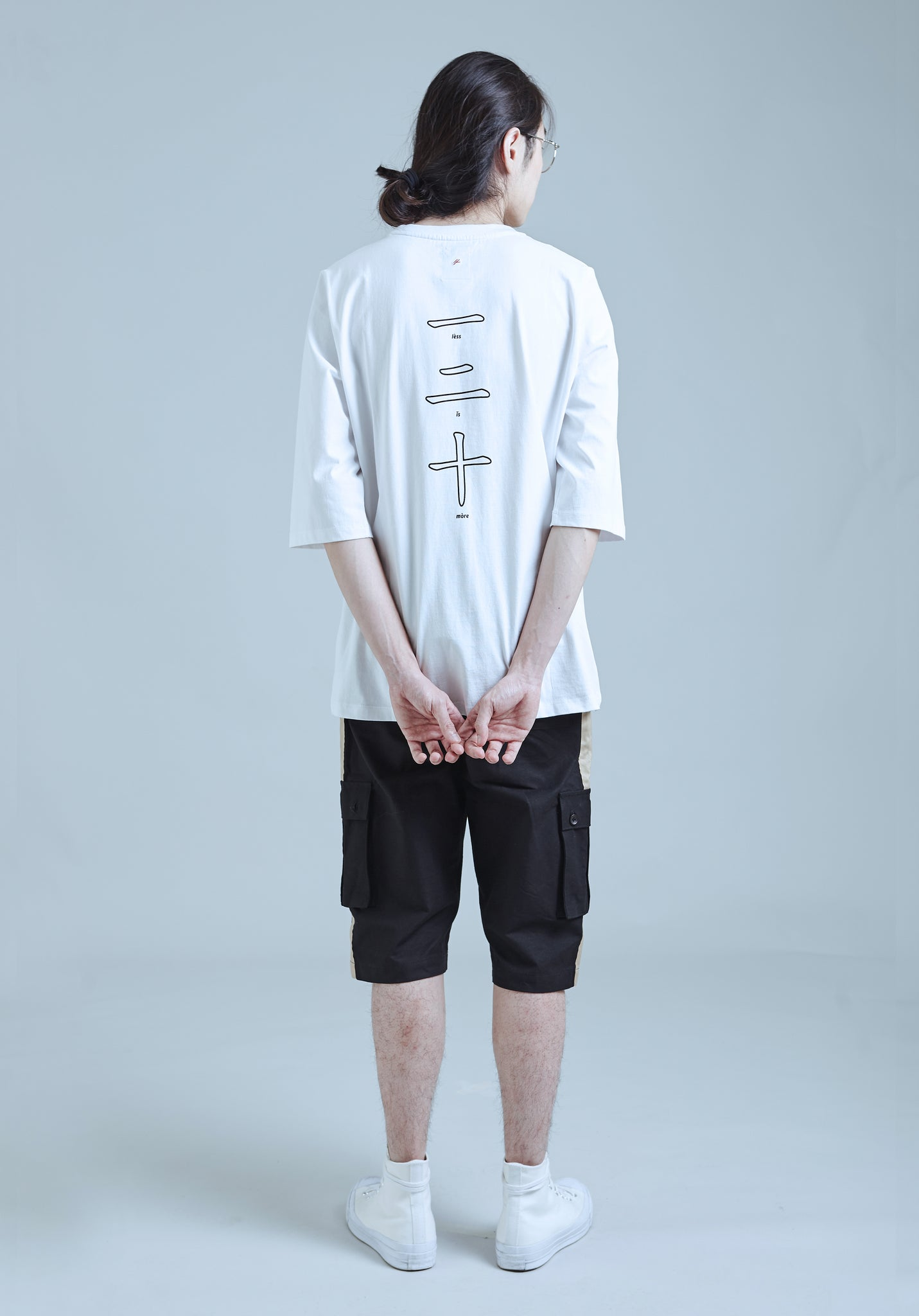 "2. ""LESS IS MORE"" 3/4 Sleeve Tee"