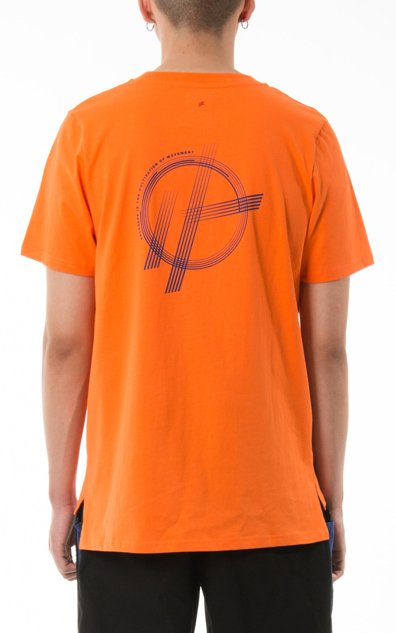 "0. ""Progression"" Orange Tee"
