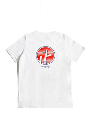 "3. ""FACE THE SUN"" White Tee"