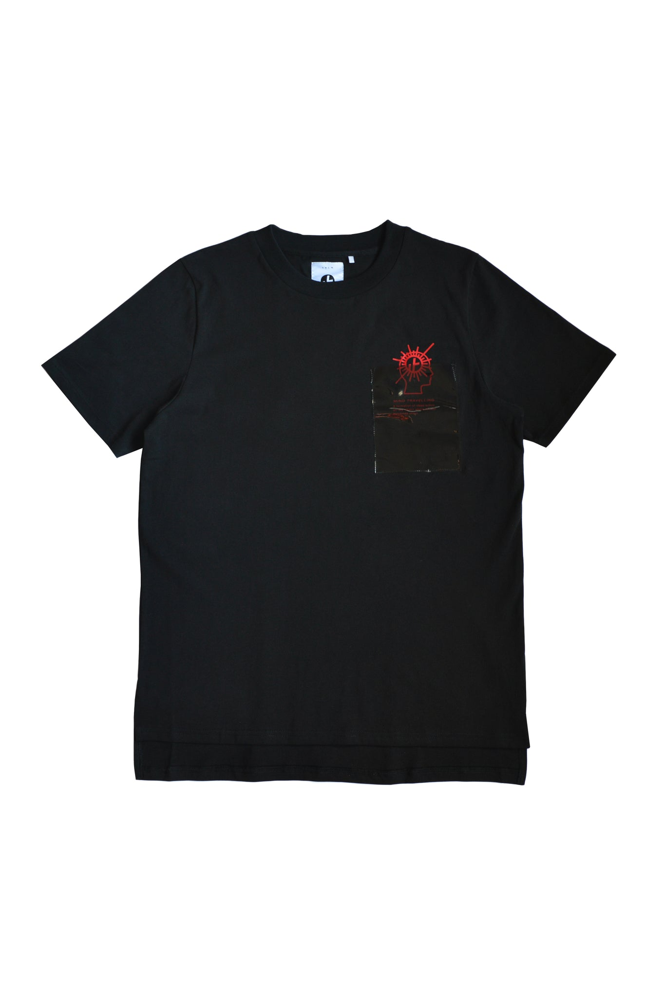 "1. ""Mind Travels"" Pocket Tee"