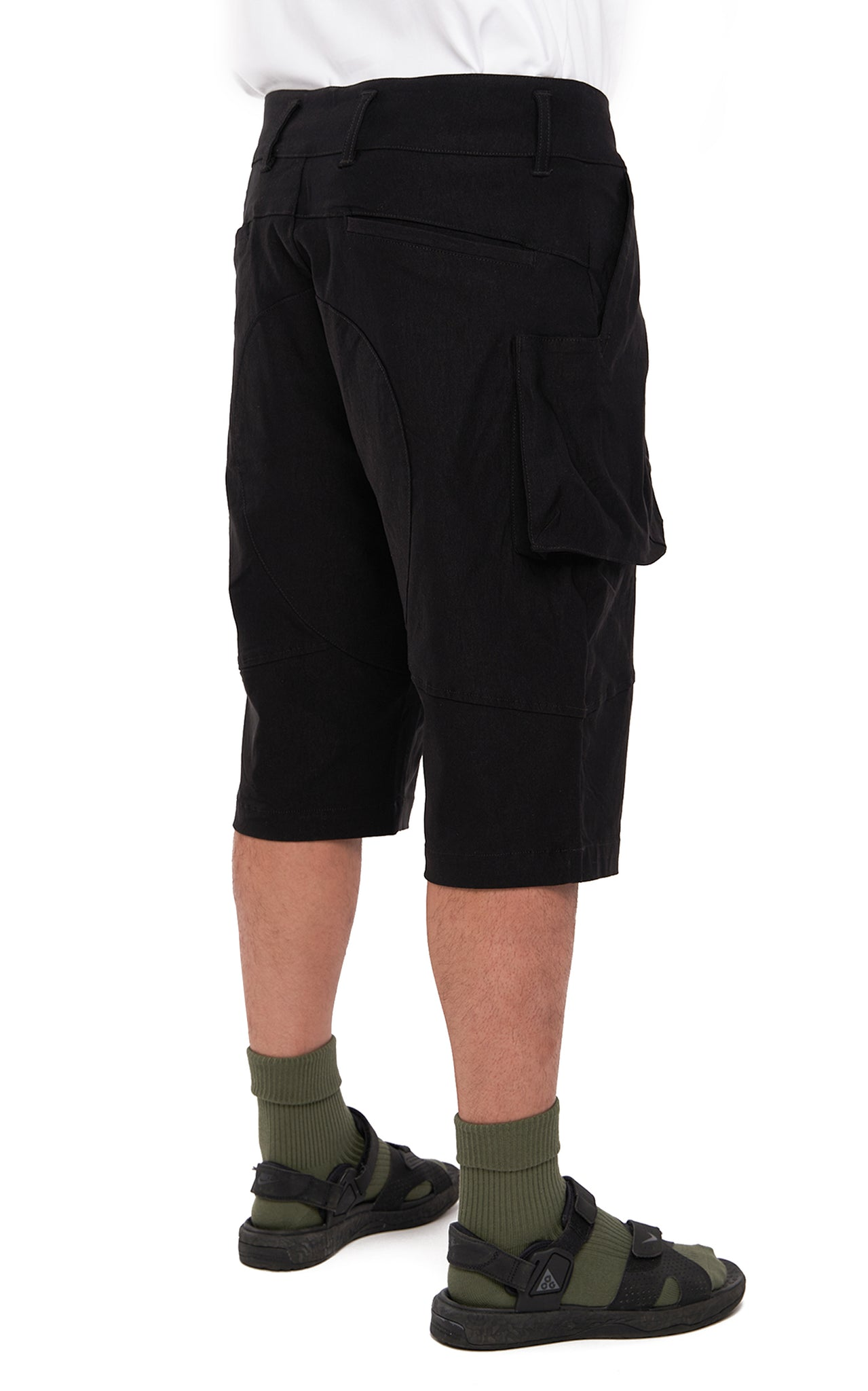 "0. ""Wander"" Knee-Length Shorts"
