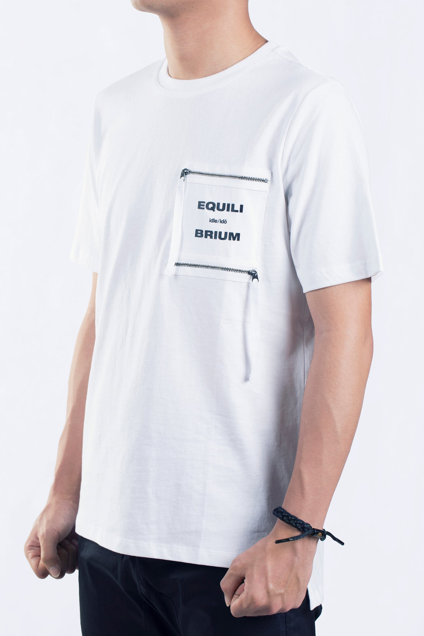 "3. ""Fulcrum"" Pocket Zip-T (w)"