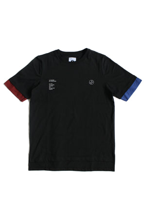 "1. ""GOVERNMENT"" Black Tee"