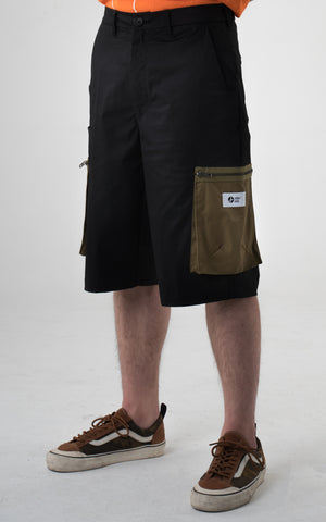 "1. ""Viridescent"" Knee Length Cargo Pants"