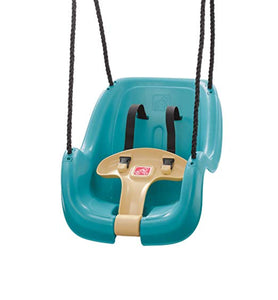 Turquoise Toddler Swing