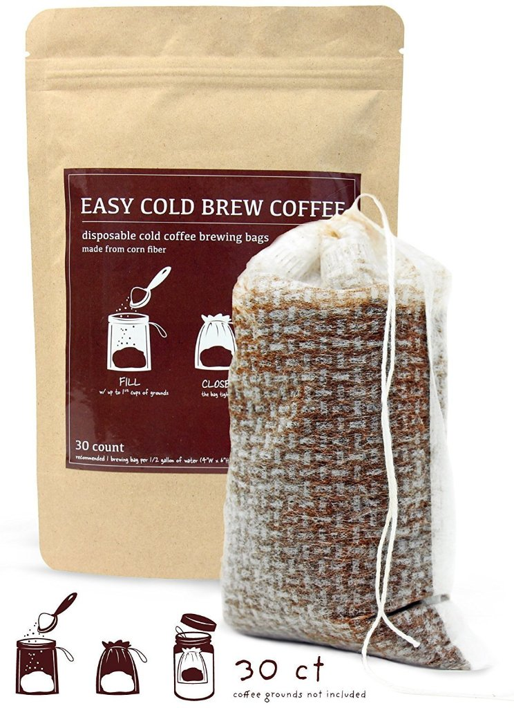 Easy, No Mess Cold Brew Filters