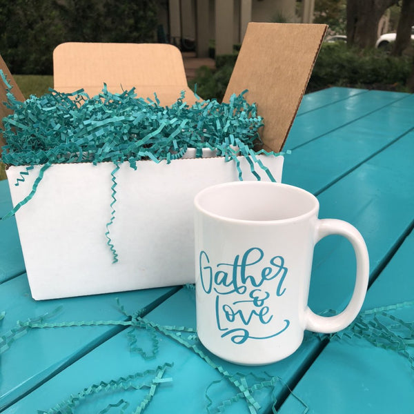 Four Pack of The Turquoise Table Mugs