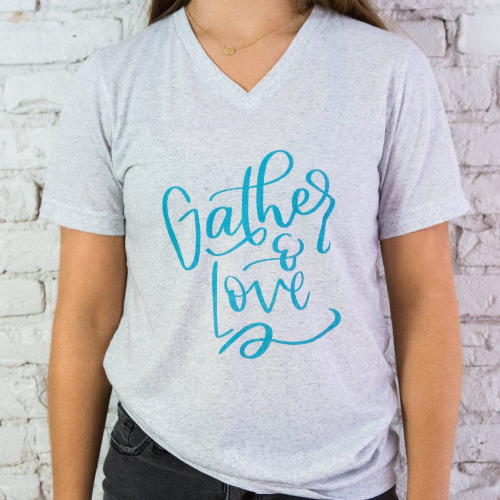Gather & Love Grey T-Shirt