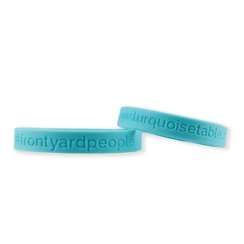 #Front Yard People Bracelets - 100 Pack