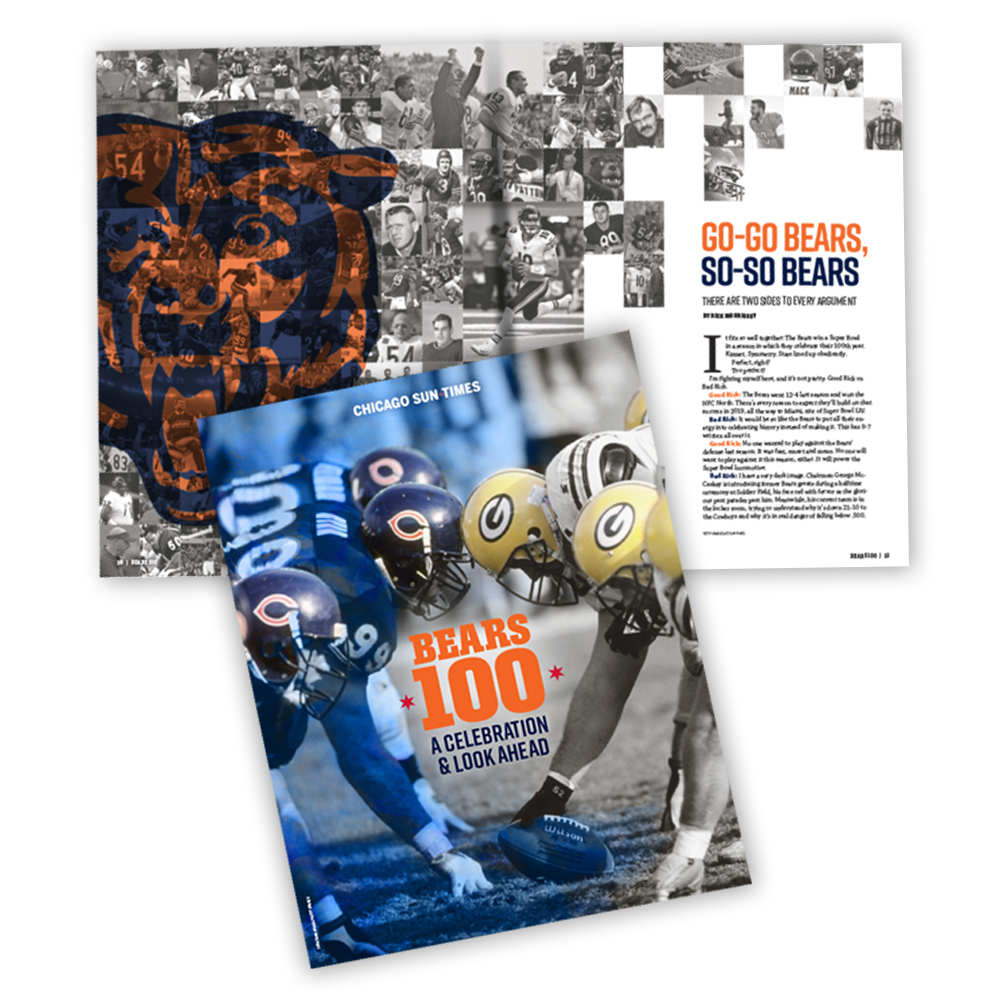 The 100th Year Bears Magazine
