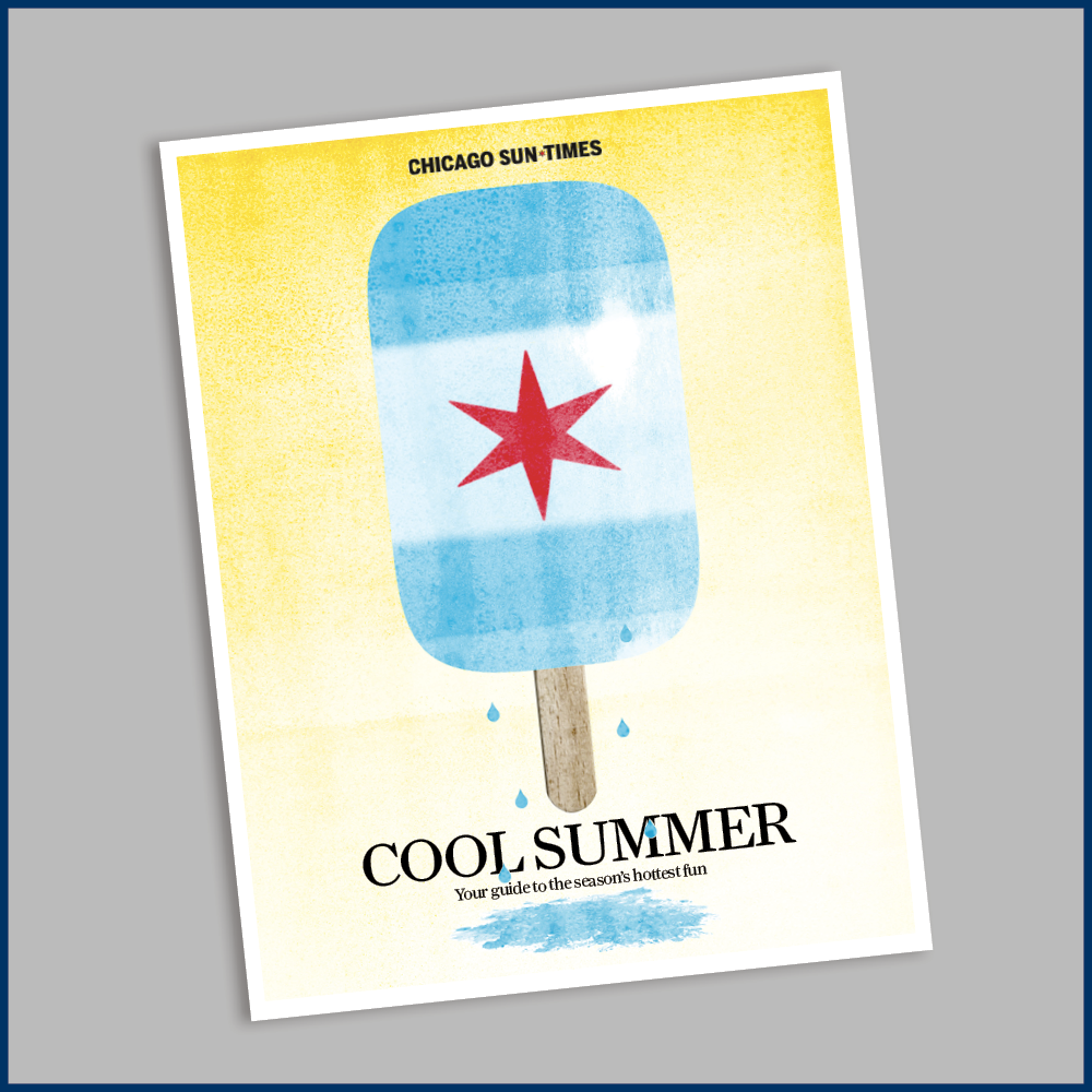 Sun-Times Summer Guide 'Cool Summer' Magazine [Free Shipping!]