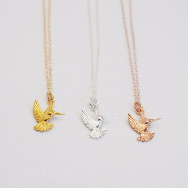luxury necklaces hummingbird looks animal bird lover jewelry origami luxly necklace fashion for gift index new less