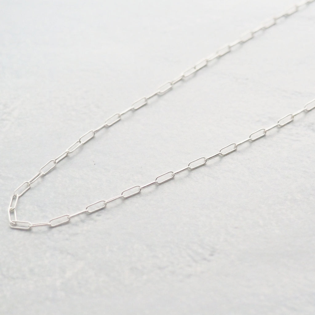 Silver Bold Chain Necklace