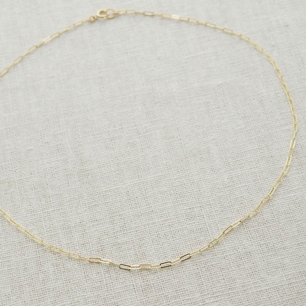 Gold Bold Chain Necklace