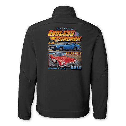 SALE - 2018 Cruisin Endless Summer official car event jacket charcoal Ocean City MD