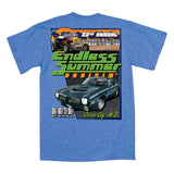 SALE - 2019 Cruisin Endless Summer car show event t-shirt heather royal Ocean City MD
