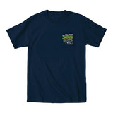 2019 Cruisin Endless Summer official car show event pocket t-shirt navy Ocean City MD