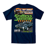 2019 Cruisin Endless Summer official car show event t-shirt navy Ocean City MD